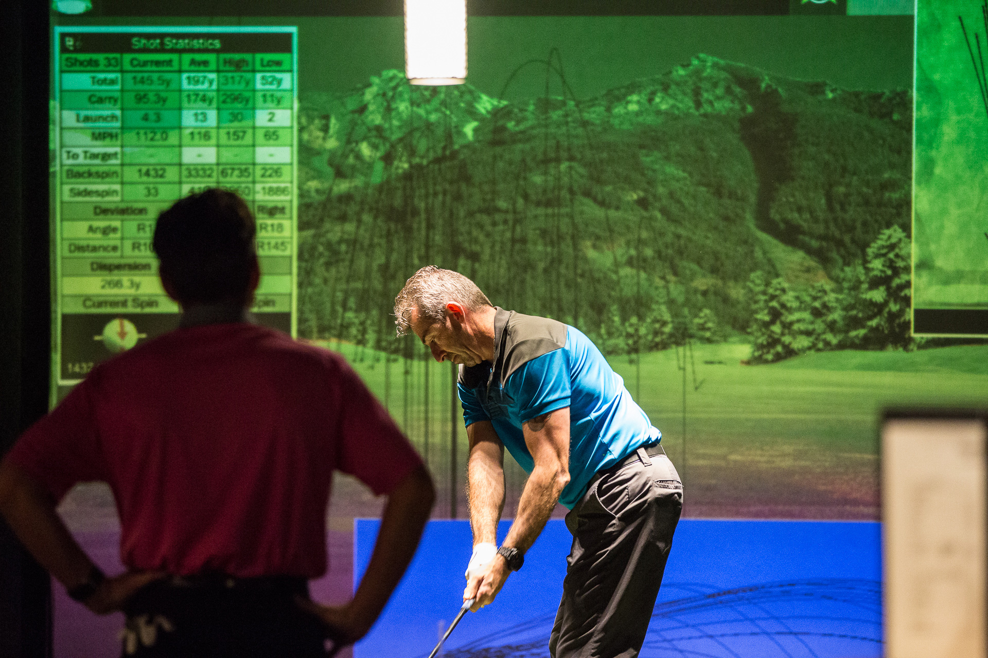 Golf O Max à Boucherville - Simulateur de golf virtuel