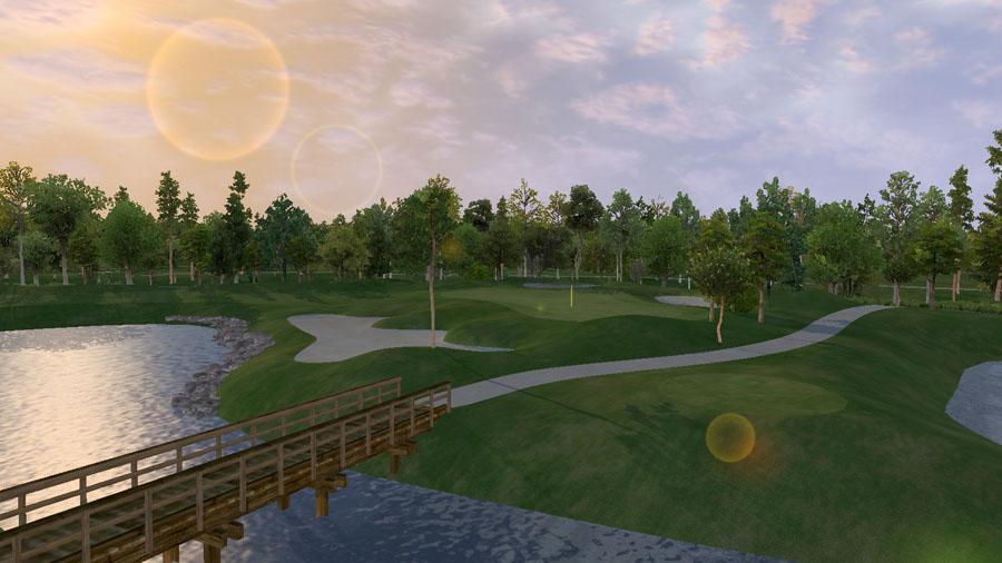 Golf O Max à Boucherville - Parcours Covered Bridge