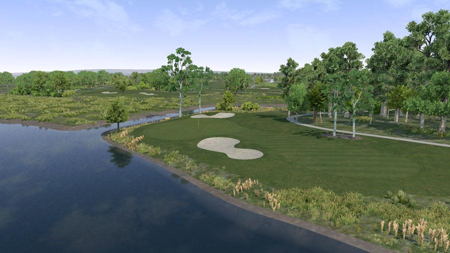 Golf O Max à Boucherville - Parcours Loading