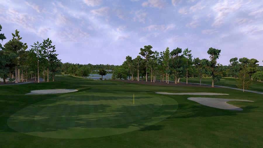 Golf O Max à Boucherville - Parcours Pinehurst No8