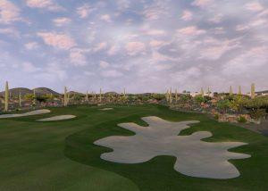Golf O Max à Boucherville - Parcours virtuel Troon North