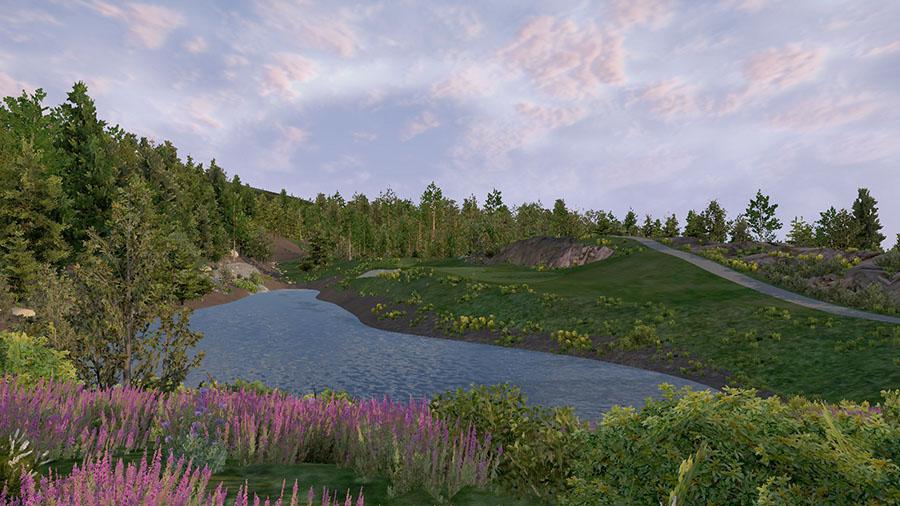 Golf O Max à Boucherville - Parcours Whistler