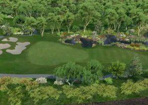 Golf O Max à Boucherville - Green