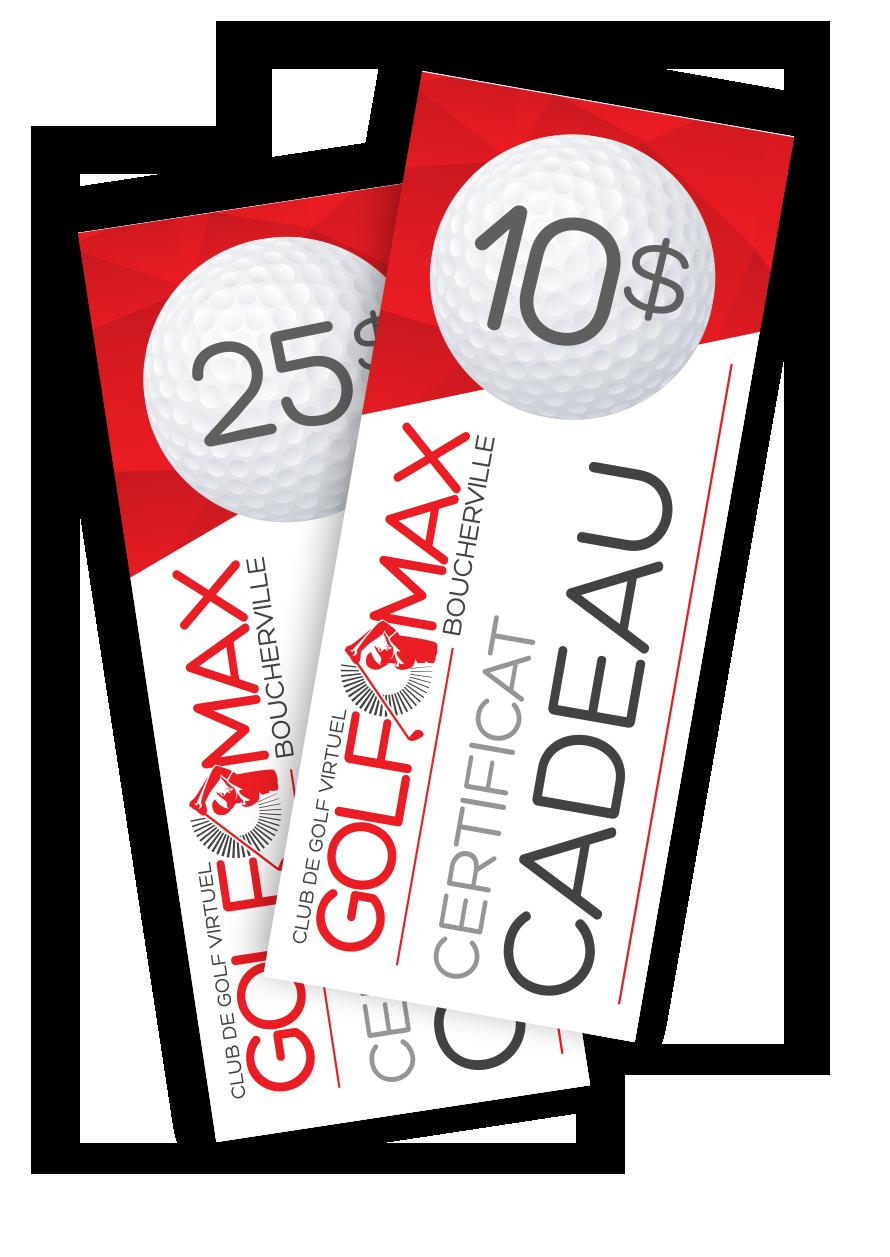 Golf O Max à Boucherville - Certificats cadeaux en ligne