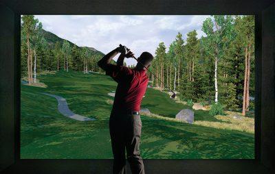 Golf O Max à Boucherville - Simulateur de golf intérieur